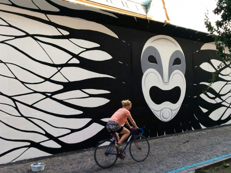 Vægmaleri, Vesterbro, København