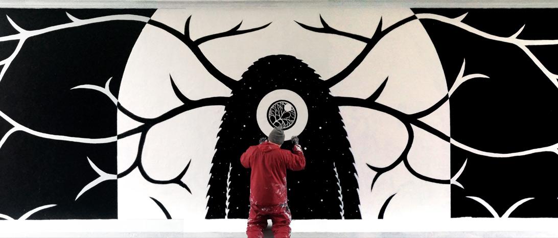 Mural, Westend, Copenhagen