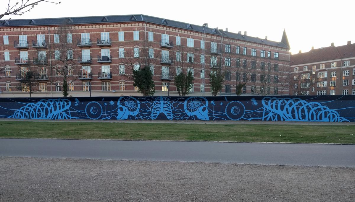 Mural, Nørrebro Copenhagen