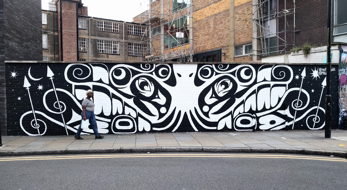 Mural, Hanbury Street London