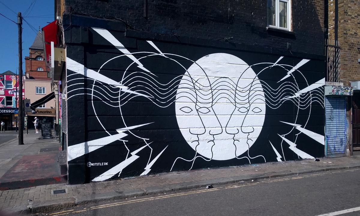 Mural Camden Town London