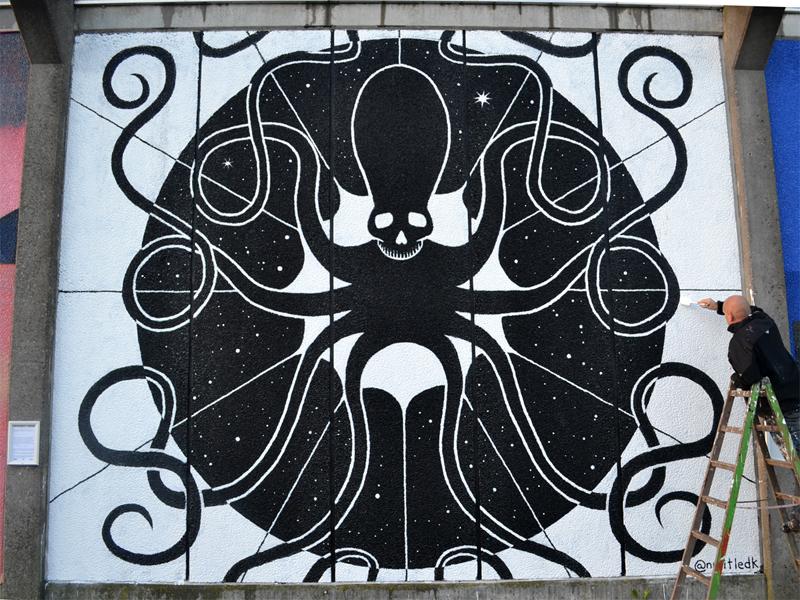 Vægmaleri, Musicon Roskilde