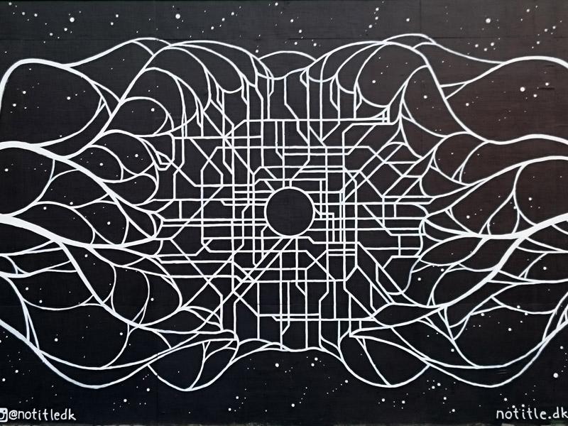 Vægmaleri på Kongens Nytorv