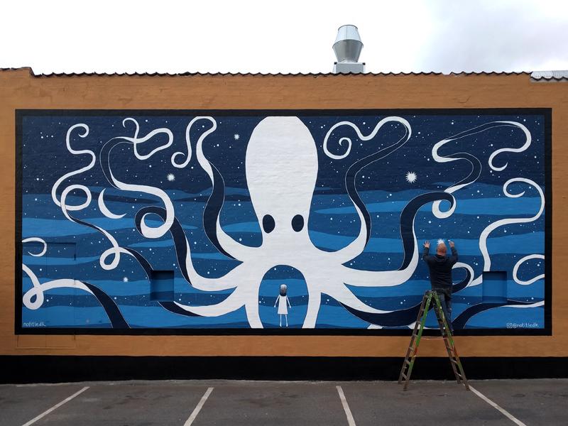 Vægmaleri Roskilde